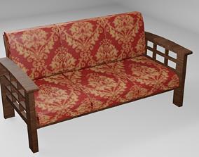Chair furniture seat 3D
