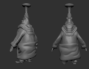 The Chef 3D model