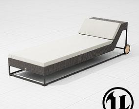 Dedon Zofa Lounge Chair UE4 3D model
