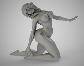 3D print model woman Summer Beauty