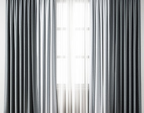 textile curtain 156 3D