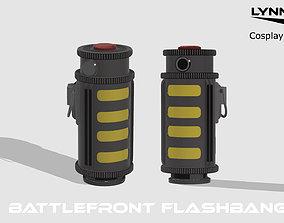 Star Wars Grenades Flashbang Dioxys Bacta 3D print model
