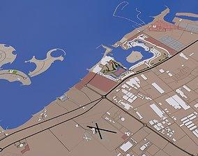 3D asset Ras al Khaimah City UAE