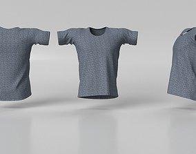3D Model Male Tshirt