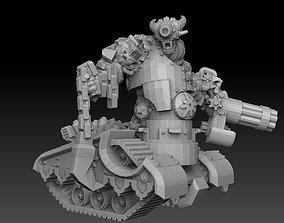 armor 3D print model Tank Demon
