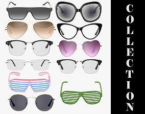 3D 11 Glasses and Sunglasses Collection