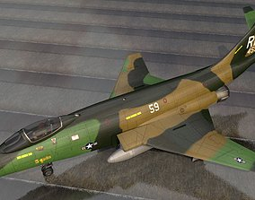 3D McDonnell RF-101G Voodoo