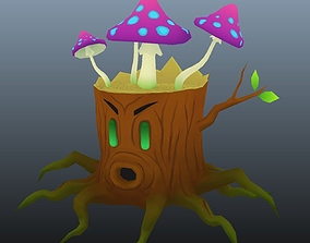 Stumpy - cartoon enemy character 3D model