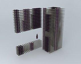 3D model Wine Rack Systems