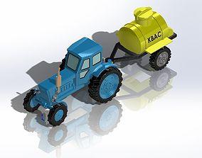 3D print model T-40A
