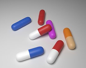 3D Capsule pills