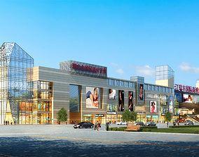 City shopping mall 011 3D
