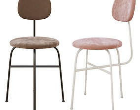 3D asset Afteroom Dining Chair