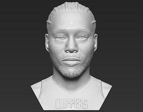 Kawhi Leonard bust 3D printing ready stl obj formats