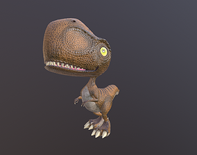Silly Dino 3D model