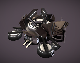 Gas Centrifuge 3D asset