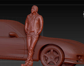 Sung Kang - Han Lue FAST AND FURIOUS 3D print model 2
