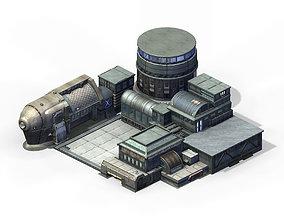 3D Future World - Black Market 02