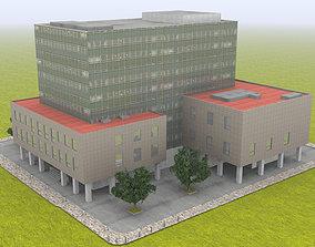 building school 3D model