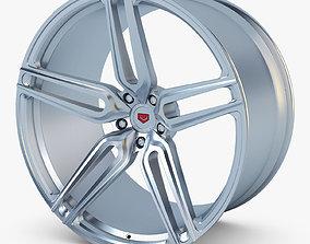 3D Vossen HC-1 19 wheel silver