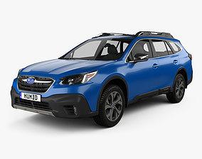 3D model Subaru Outback Touring 2020