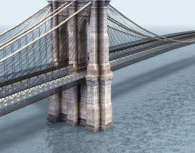 Brooklyn Bridge New York 3D