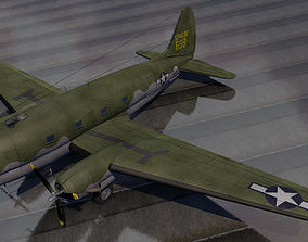 Curtiss-Wright C-46 Commando 3D