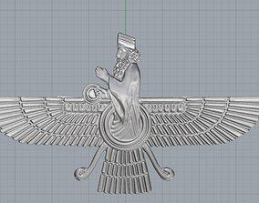 3D print model Farvahar
