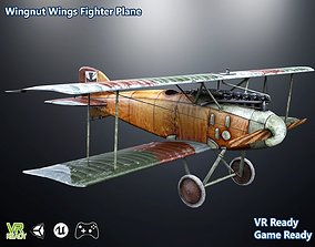 Wingnut Wings Fighter Plane Optimized 3D model realtime