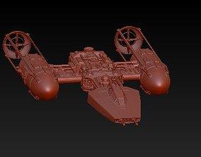 starship 3D print model