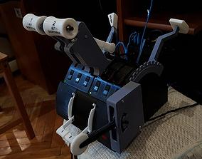 3D print model Saitek Throttle Quadrant Box With Start 2