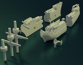 HMS Victory Sliced 3D printable model