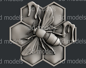 cnc 3d STL models for CNC router bee