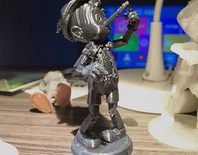 3D printable model Pinocchio with Big Nose figure