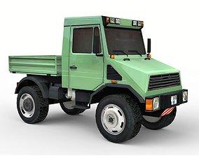 3D model Industrial Utility Truck 4x4
