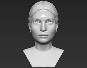 Ivanka Trump bust 3D printing ready stl obj formats