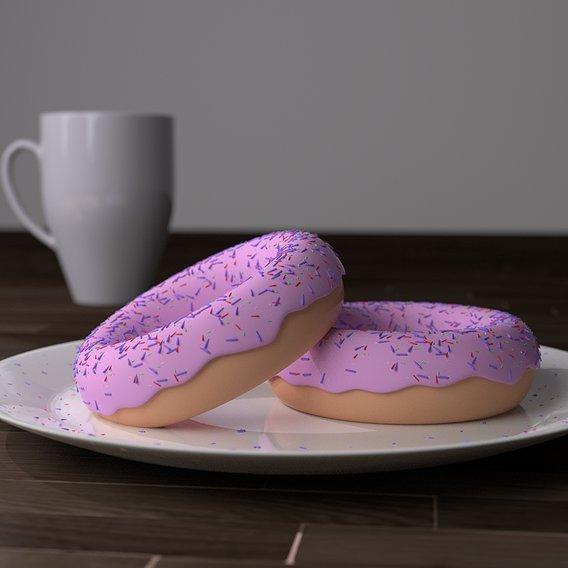 CGI Donuts