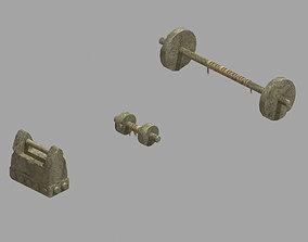 3D model Dynasty Training weaponry 03
