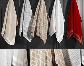 3D model Towels 1