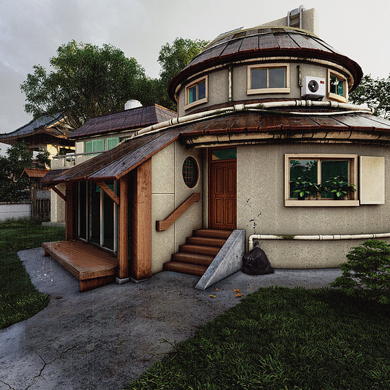 Naruto's House