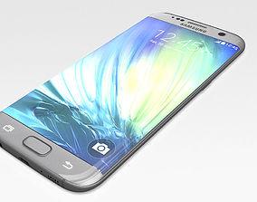 Samsung galaxy s7 edge 3D asset