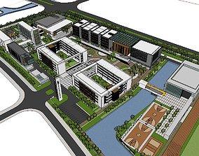3D model Region-City-School 80