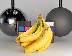 3D asset Bunch of bananas 32