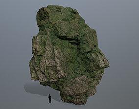 3D asset mossy rocks