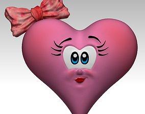 3D Print Cute Heart