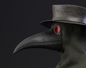 Plague doctor customizable 3D model