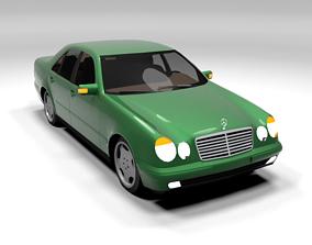 MERCEDES E CLASS LOWPOLY 3D asset