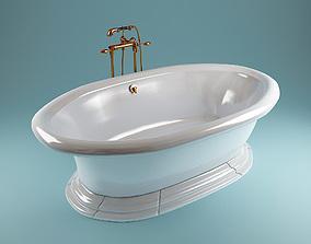 3D model Kohler vintage bathtube