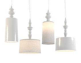 KARMAN Ali e Baba suspension lamps 3D