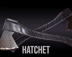 4 Hatchet 3D asset VR / AR ready